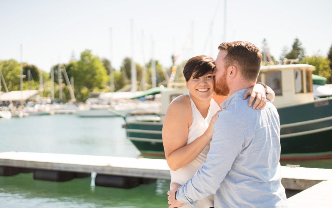 Stephanie & Mark's Blue Mountain Engagement Photos