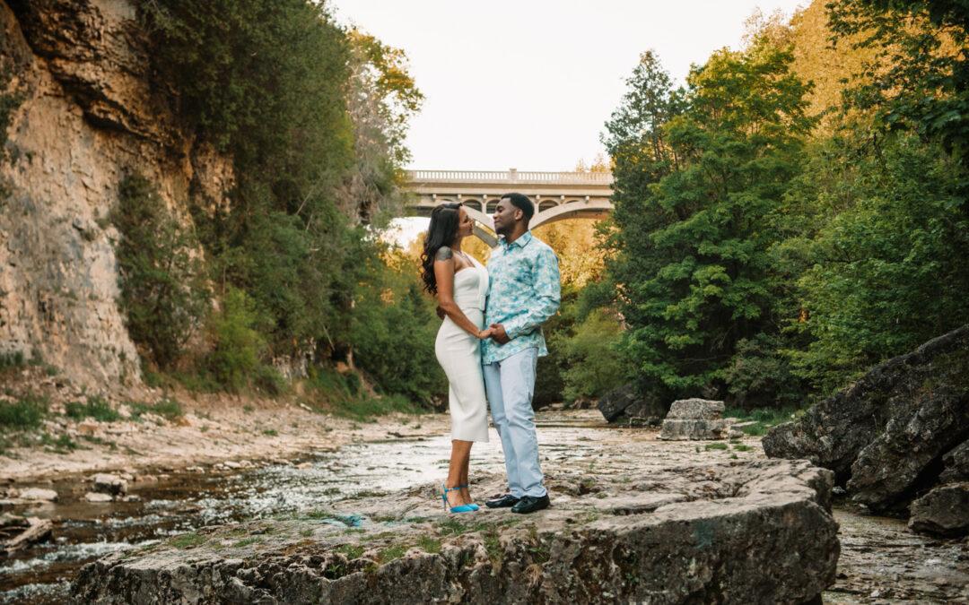 Jessica & Sheldon's Engagement Photos